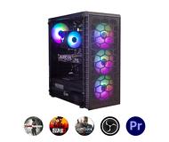 Компьютер Зеон для современных игр, стриминга, работы с фото и видео [S81W]